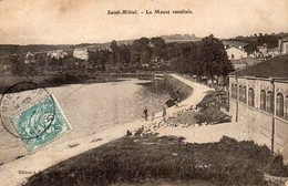 CPA SAINT MIHIEL - LA MEUSE CANALISEE - Saint Mihiel