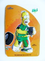 Magnet From Lithuania IKI Market The Simpsons Animation 2015 Sport Racing Car Rally - Sports