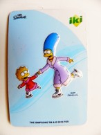 Magnet From Lithuania IKI Market The Simpsons Animation 2015 Sport Figure Skating - Sports