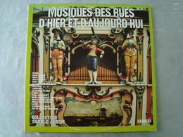 Double 33 Tours: MUSIQUE DES RUES D'HIER ET D'AUJOURD'HUI (Orgue) Carrère 67 221 - Other - French Music