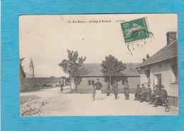 Camp D'Avord, 1911 ( Cher ). - Le Poste. - Militaires Et Militaires à Vélo. - Avord