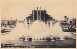 BRUXELLES / BRUSSEL / EXPO 1935 / FONTAINES EN FACE DU GRAND PALAIS - Expositions Universelles