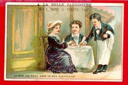 St Germain En Laye, A La Belle Jardinière, L. Tant, Ozanne Succr 1 & 3 Rue Paris, Chromo Lith. Courbe Rouzet, Restaurant - Autres