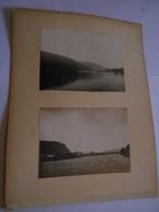 Lot De 4 Photographies Originales Circa 1900 La Meuse De Namur à Dinant  FAOUE Photo Photographie - Lieux