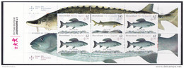GERMANY, 2015, MNH,FISH, STURGEONS,BOOKLET - Fishes