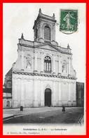 CPA (47) CASTELJALOUX.  La Cathédrale....D811 - Casteljaloux