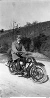 PHOTO NEGATIF ORIGINAL MOTO MOTOCYCLETTE BSA De 1918 - Motor Bikes