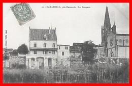 CPA (47) SAINTE-BAZEILLE.  Les Remparts....D816 - Autres Communes