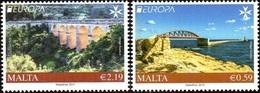 CEPT / Europa 2018 Malte N ° 1909 Et 1910 **  Ponts Et Viaducs - 2018