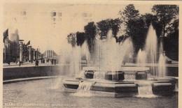 BRUXELLES / BRUSSEL / EXPO 1935 / LES FONTAINES DE L ALLEE DU CENTENAIRE - Expositions Universelles