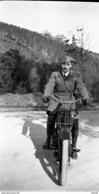 PHOTO NEGATIF ORIGINAL MOTO MOTOCYCLETTE BSA De 1918 - Motos