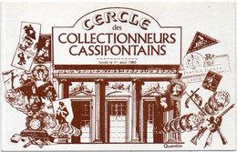 Cercle Des Collectionneurs Cassipontains - Illustration De QUENTIN      (107279) - France
