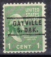 USA Precancel Vorausentwertung Preo, Locals South Dakota, Gayville 743 - Vereinigte Staaten