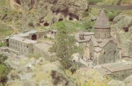 CPA - Guéghard - Monastère Rupestre ( XIIe Et XIIIe S. ) - Arménie