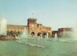 CPA - Erevan - La Place Lénine - Arménie