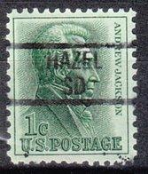 USA Precancel Vorausentwertung Preo, Locals South Dakota, Hazel 839 - Verenigde Staten