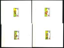 EPREUVE De Luxe - SENEGAL 1990 - Yvert 862/65 - Coupe Afrique Football - Neuf **(MNH) Sans Charniere - Senegal (1960-...)