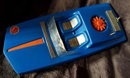 Rare Bateau à Moteur En Plastique Années 60-70 Moteur Fonctionne - Toy Memorabilia