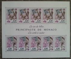Monaco - YT BF N°46 - Europa / Jeux D'enfants - 1989 - Neuf - Blokken
