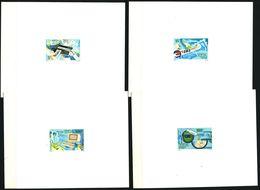 EPREUVE De Luxe - SENEGAL 1990 - Yvert 869/72 - Office Poste Caisse Epargne - Neuf **(MNH) Sans Charniere - Senegal (1960-...)