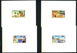 EPREUVE De Luxe - SENEGAL 1992 - Yvert 964/67 - Tourisme Fleur Pelican - Neuf **(MNH) Sans Charniere - Senegal (1960-...)