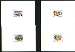 EPREUVE De Luxe - SENEGAL 1992 - Yvert 968/71 - Produit Halieutique Peche Poisson - Neuf **(MNH) Sans Charniere - Senegal (1960-...)