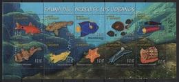 Salvador (2007) Yv. 1680/89  /  Marine Fauna - Fauna Marina - Coral - Corals - Shells - Maritiem Leven