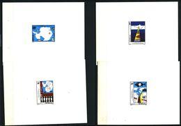 EPREUVE De Luxe - SENEGAL 1992 - Yvert 997/1000 - Antarctique Drapeau Main Bateau Poisson - Neuf **(MNH) Sans Charniere - Senegal (1960-...)