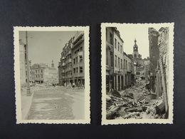 8 Photos De Namur Le 18 Août 1944 - Guerre, Militaire