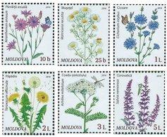 Moldova 2016. Definitive Issue. Wild Flowers. Flora.Flowers. Plants - Moldavië