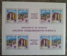 Monaco - YT BF N°49 - Europa / Bâtiments Postaux D'hier - 1989 - Neuf - Blokken