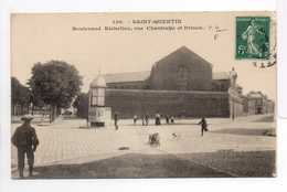 - CPA SAINT-QUENTIN (02) - Boulevard Richelieu, Rue Chantrelle Et Prison 1908 - Edition P. D. 130 - - Saint Quentin