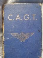 Rare Carte Club Aéronautique Gilbert Thomain 1938 - Aviation