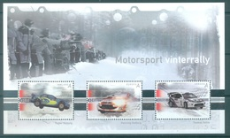 NORWAY - 2007 - MNH/*** LUXE - RALLY MOTORSPORT - Yv Bloc 34  - Lot 17181 - Blocs-feuillets