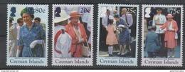 CAYMAN ISLANDS, 2016,  MNH, QEII, 90TH ANNIVERSARY, 4v - Royalties, Royals