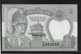 Népal - 2 Rupees - Pick N°29 - NEUF - Népal