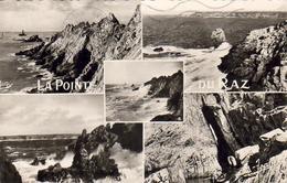 D29  La Pointe Du Raz Carte Multivues ..............  éditeur Jean à Audierne  N°1769 - Bretagne