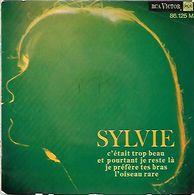 45 TOURS SYLVIE VARTAN ** C'ETAIT TROP BEAU - Other - French Music
