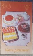 Petit Calendrier De Poche 1995 Votre  Pâtissier - Calendars