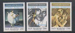 San Marino 1989 Ballet 3v ** Mnh (39204) - Ongebruikt