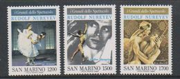 San Marino 1989 Ballet 3v ** Mnh (39204) - San Marino