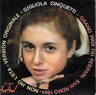 45 TOURS GIGLIOLA CINQUETTI ** NON HO L'ETA - Vinyl Records
