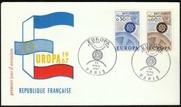 France Paris 1967 / Europa CEPT / FDC - Europa-CEPT