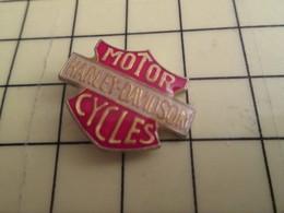 1315a Pin's Pins / Beau Et Rare : Thème MOTOS / HARLEY-DAVIDSON MOTOR CYCLES - Motorräder