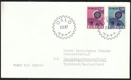 Norway Oslo 1967 / Europa CEPT / FDC - Europa-CEPT