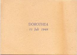 Geboortekaartje Carte De Naissance - Dorothea Quittelier - Antwerpen - 11 Juli 1948 - Birth & Baptism