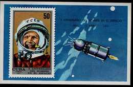 Cuba Block 37 Raumfahrt Postfrisch MNH Neuf ** - Hojas Y Bloques