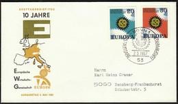 Germany Bonn 1967 / Europa CEPT / FDC - 1967
