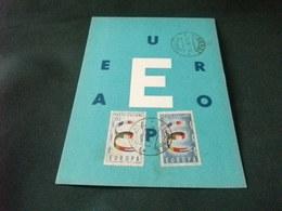 EUROPA TEMA EUROPEO FRANCOBOLLI EUROPA ITALIA - Eventi