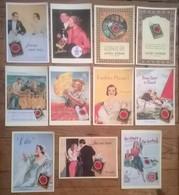 Lot De 13 Cartes Postales Publicitaires / LUCKY STRIKE - Publicité